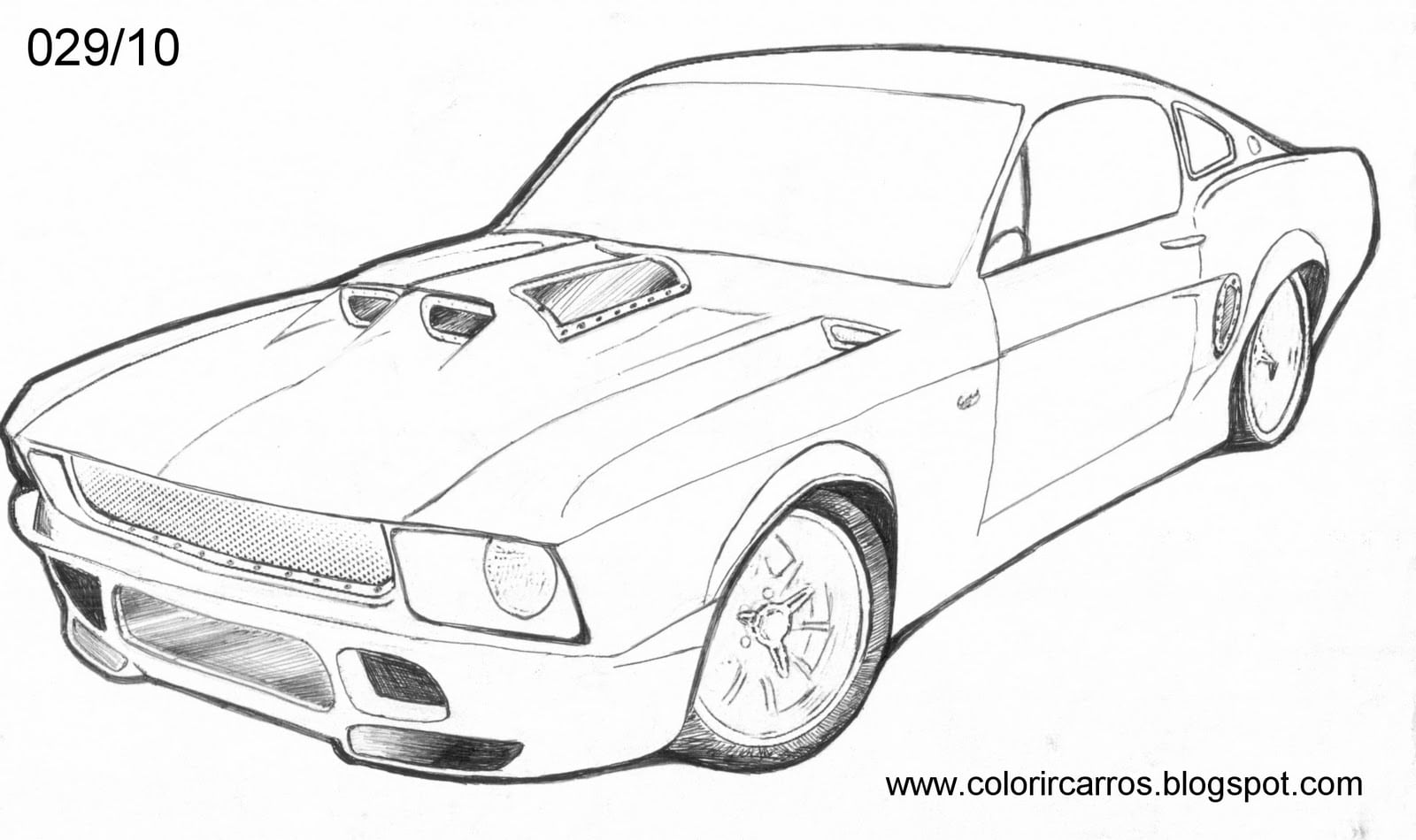 Carros Para Pintar E Imprimir – Pampekids Net