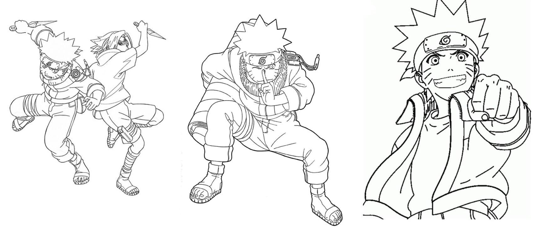 Imagens Para Colorir De Naruto: Desenho Para Imprimir Do Naruto