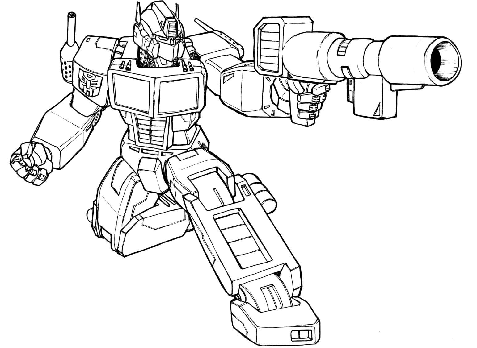 Desenhos Dos Transformers Para Colorir, Pintar, Imprimir! Moldes E
