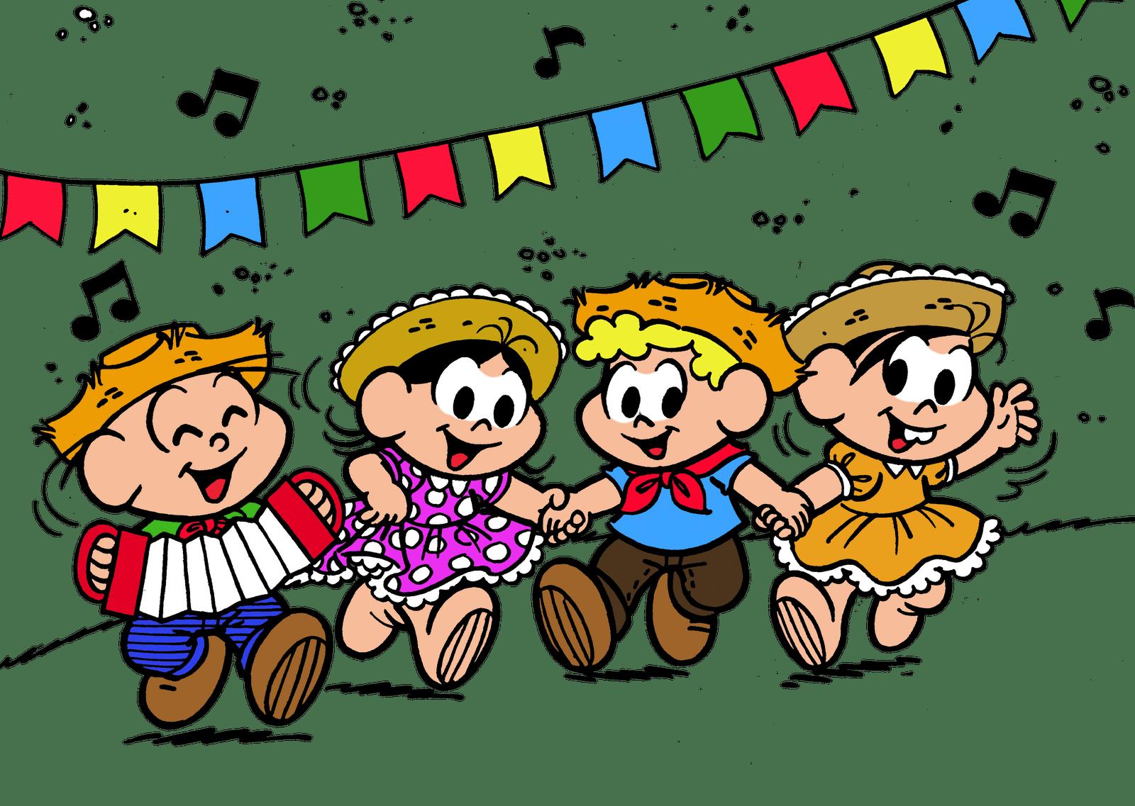 17 Imagens De Festa Junina Com A Turma Da MÔnica