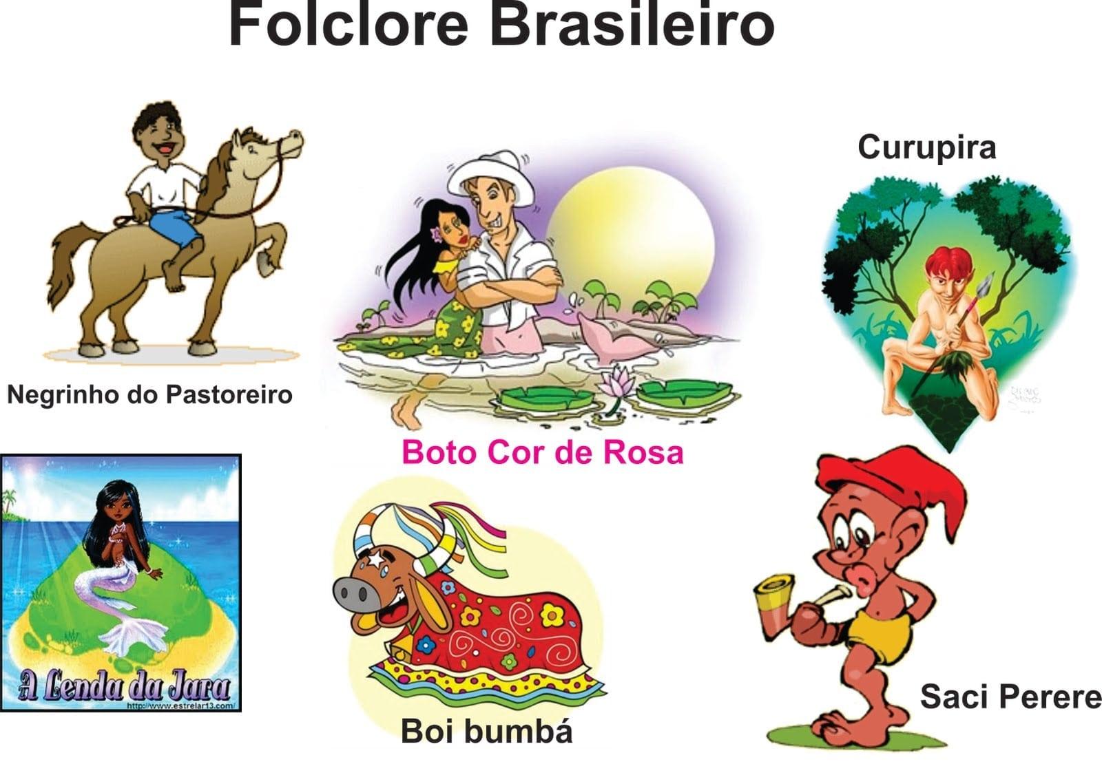 Ba̼ Da Web Folclore Brasileiro Imagens РColoring City