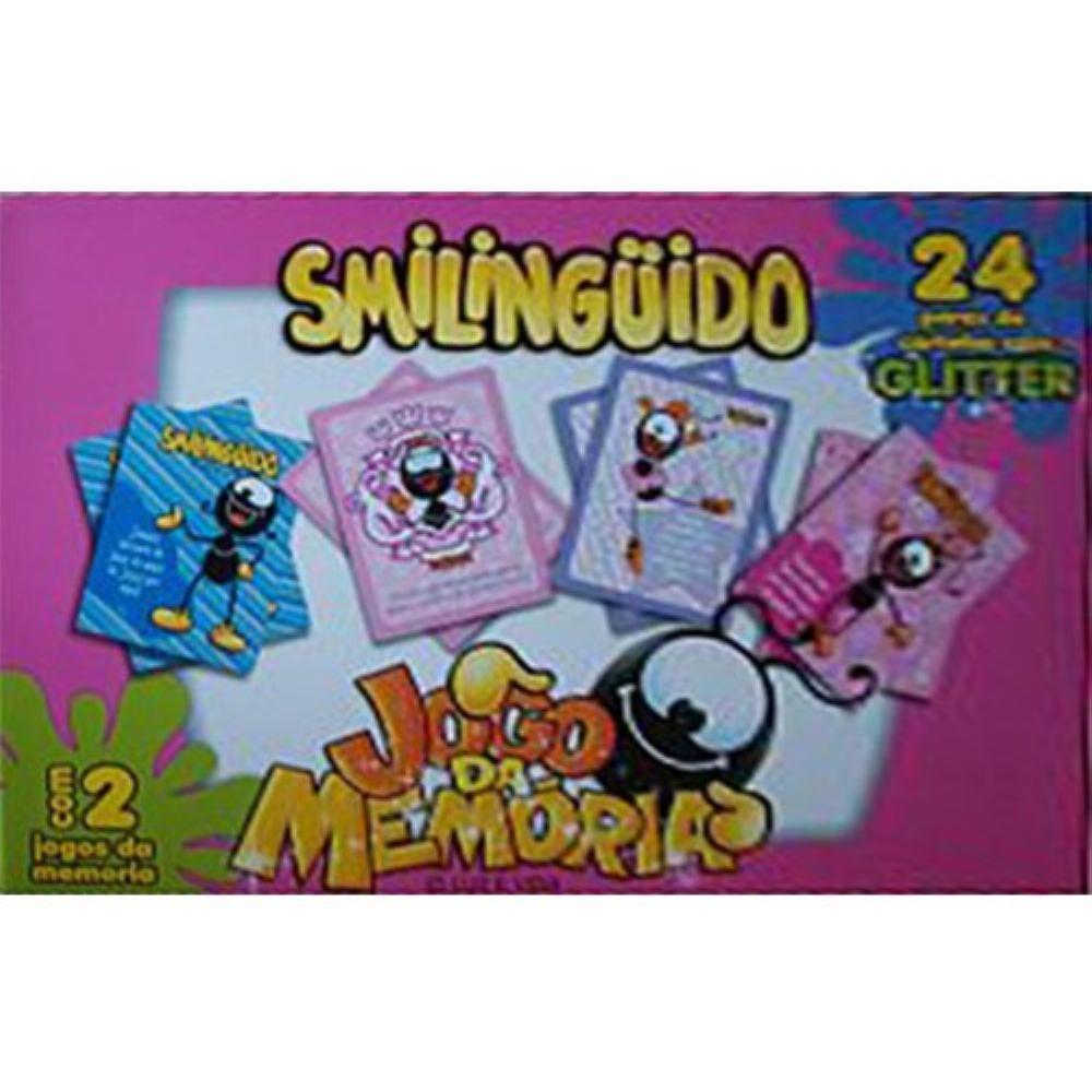 Jogo Da Memória Smilingüido Caixa Com 2 Jogos Caixa Rosa