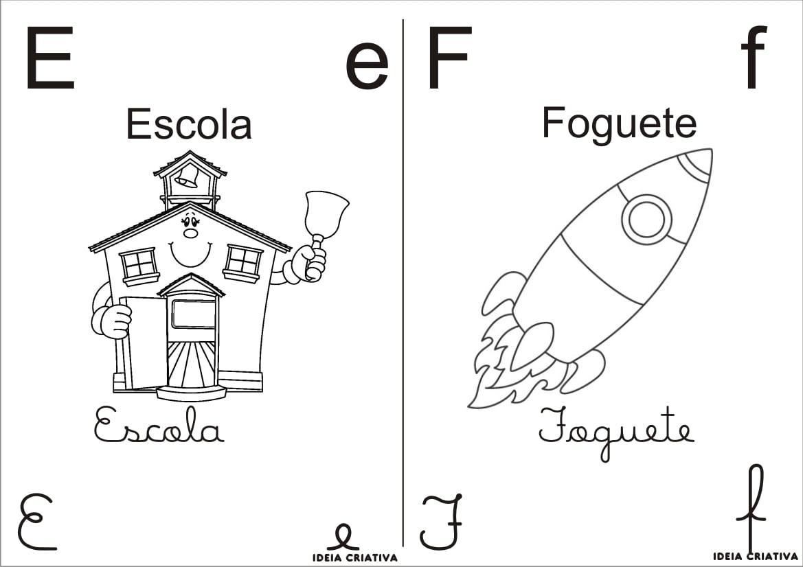 Dicas De Letras Do Alfabeto Para Colorir