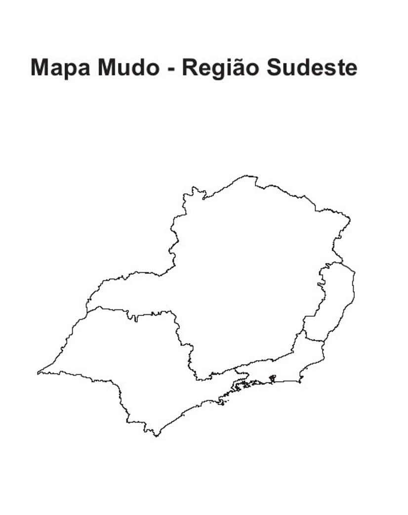 Mapas Do Brasil E Suas Regiões Para Colorir