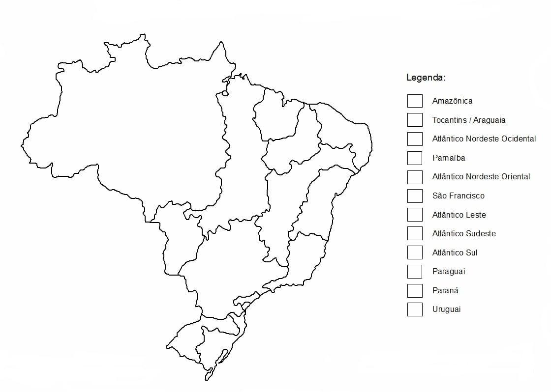 Mapas Do Brasil Para Colorir – Pampekids Net
