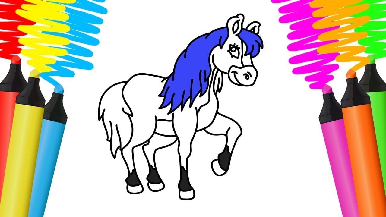 Desenhos Para Pintar: Desenhos Para Pintar De Cavalos