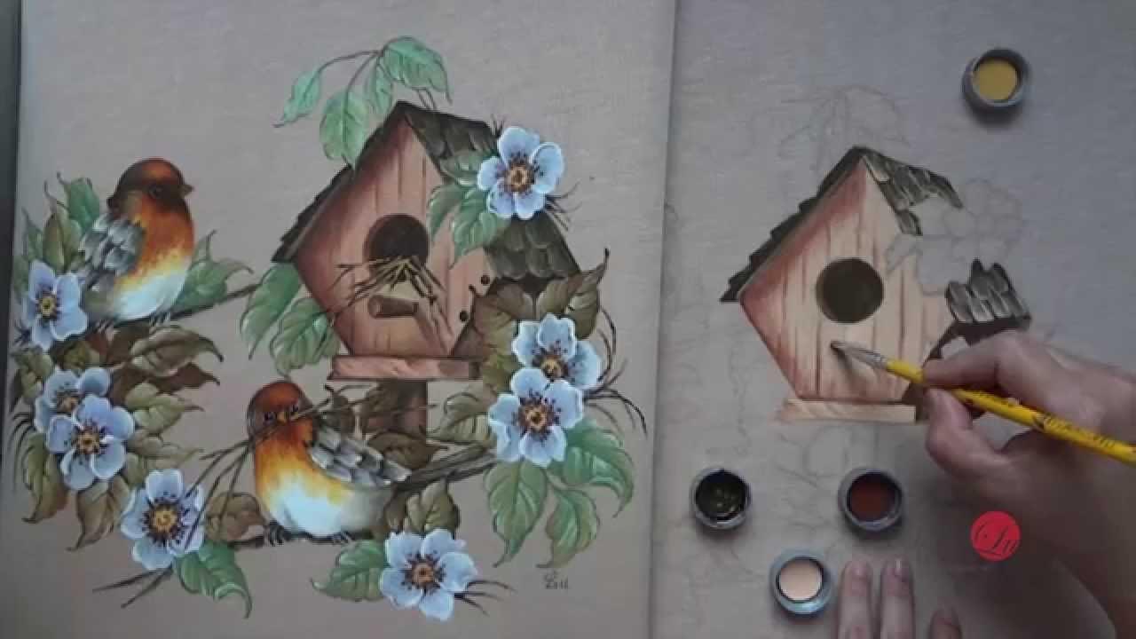 Pássaros Em Emborrachado (parte 2 Aula 7)