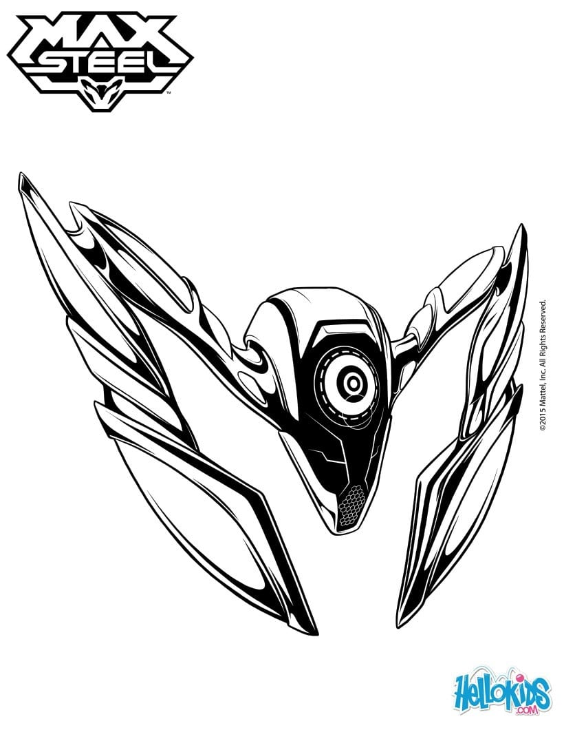 Modest Max Steel Coloring Pages Max Steel 44 Printables Of Your