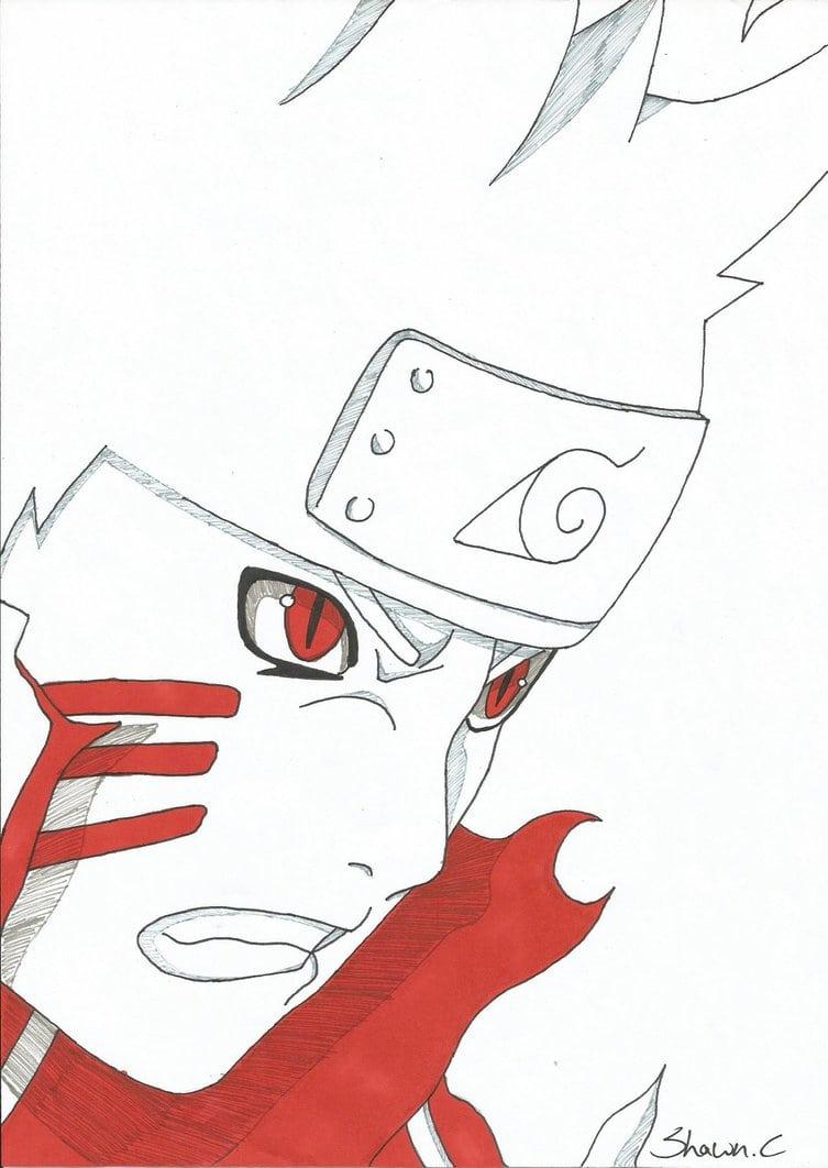Naruto Bijuu Mode By Shinsart On Deviantart