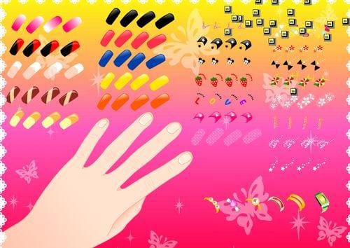 Jogos De Manicure E Pedicure E Cabeleireiro E Maquiagem E Vestir