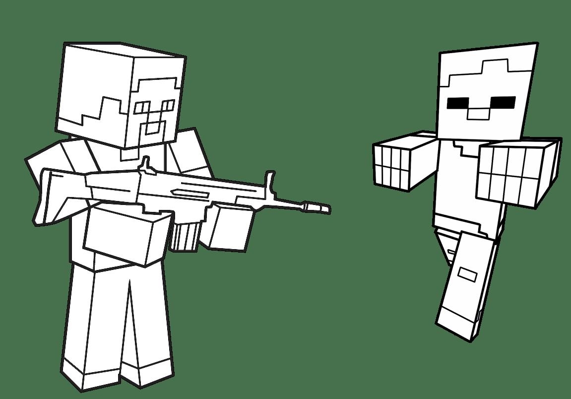 Jogo Pinte Herobrine E Zumbi De Minecraft No Jogos 360