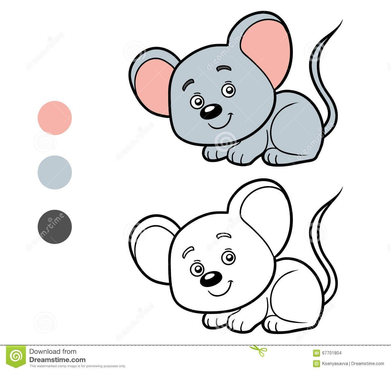 Rato Para Colorir – Pampekids Net