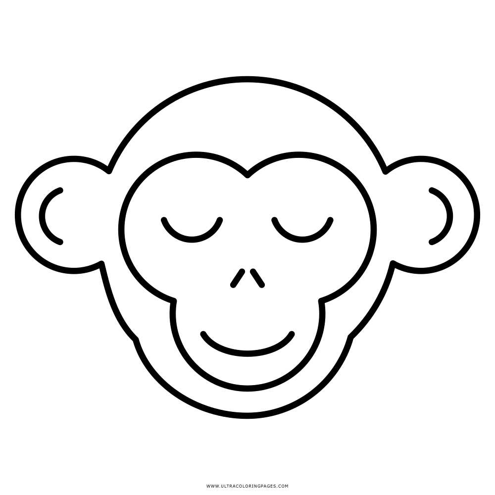 Macaco Desenho Para Colorir