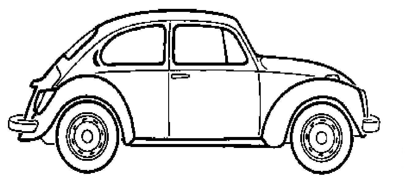 Desenho Para Colorir Carro