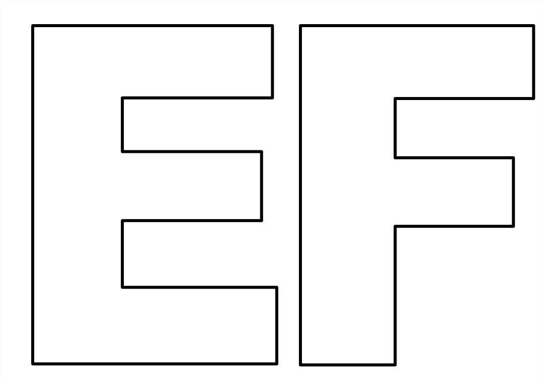 Moldes De Letras Do Alfabeto Em Tamanho Grande Para Imprimir