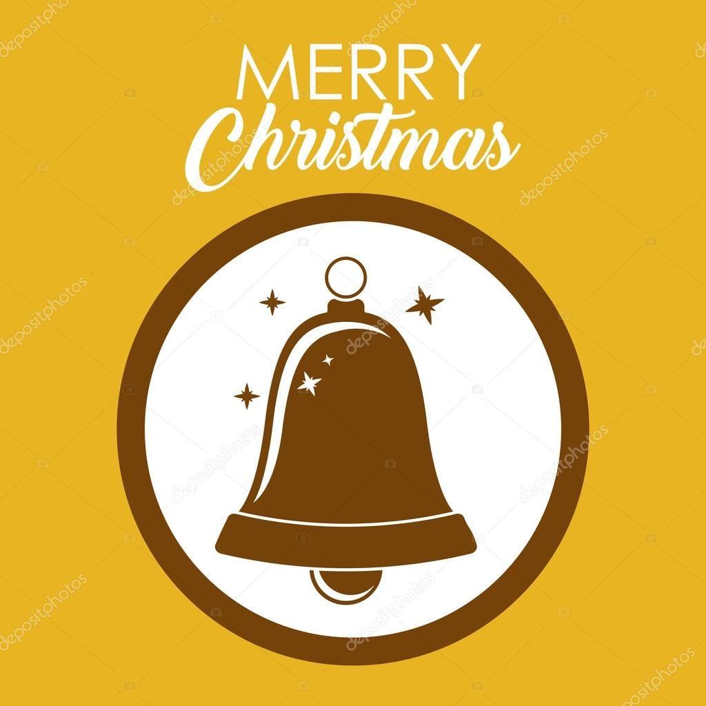 Desenho De Sino De Natal — Vetores De Stock © Grgroupstock  124175196