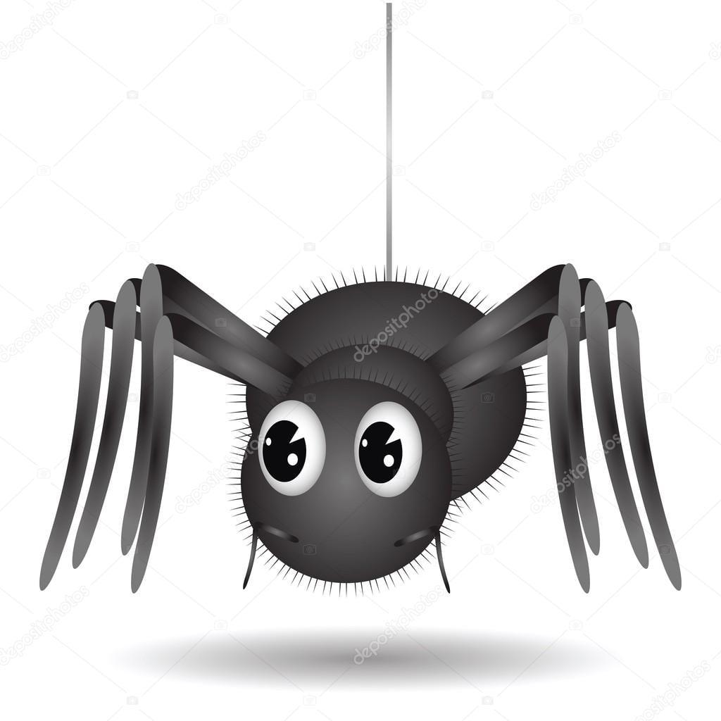Aranha Desenhos Animados — Vetores De Stock © Valeo6  50425667