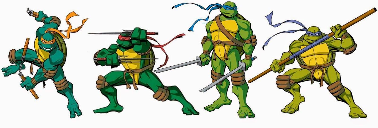 Como Desenhar Uma Tartaruga Ninja