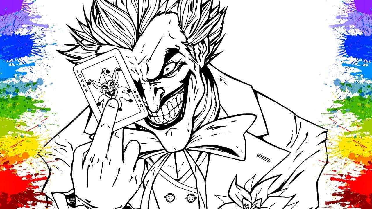 Coringa Desenho Do Batman Cartoons EsquadrÃo Suicida Desenhos