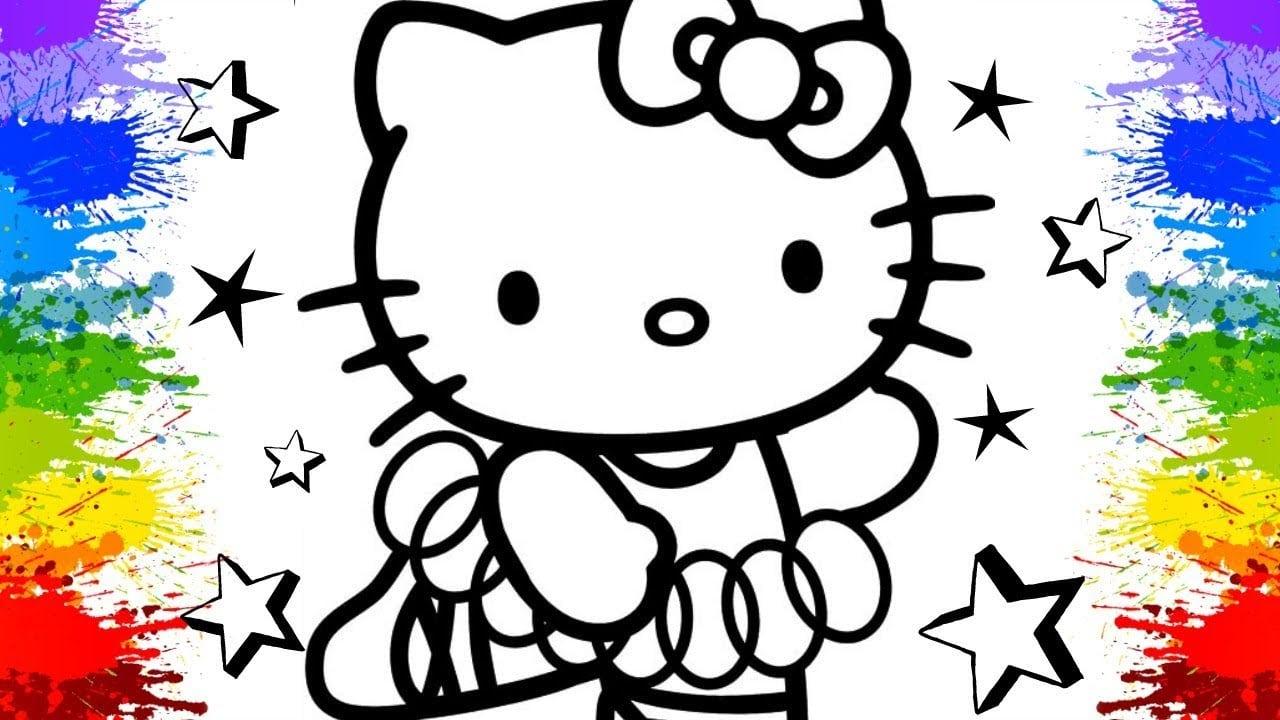 Video Infantil Aprender Cores Para Criancas Colorir Desenhos Hello