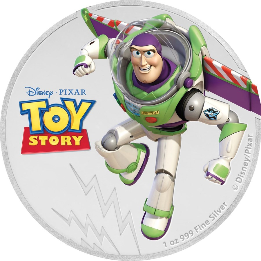 Niue Silver Coins   2018 Niue 1 Oz Silver Disney Pixar Toy Story