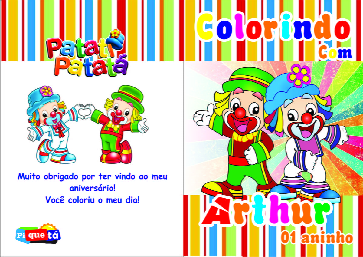 Revistinha Para Colorir