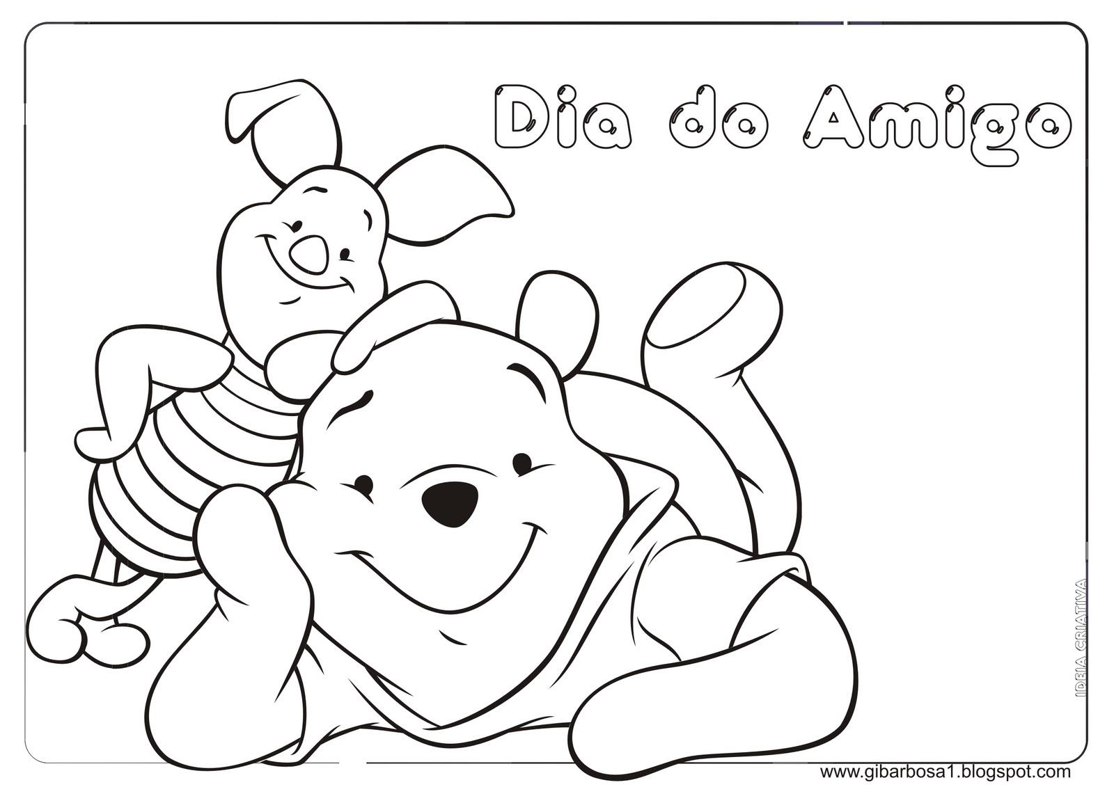 Desenhos Para Colorir Ursinho Pooh – Pampekids Net