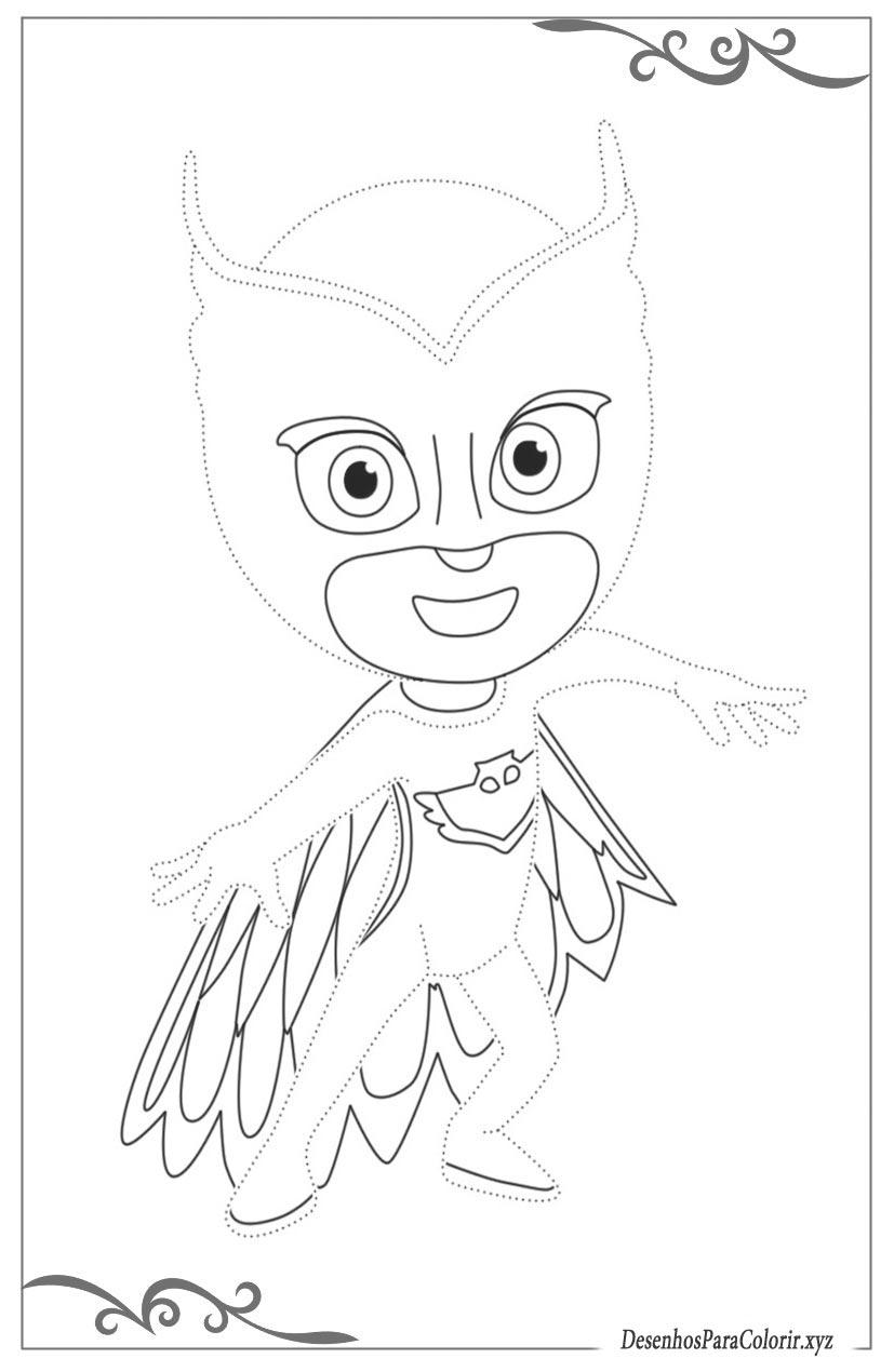 Pj Masks – Heróis De Pijama Desenhos Para Meninos Colorir