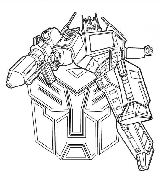 Imprimir Gratuitamente Desenhos De Transformers Prime Para Colorir