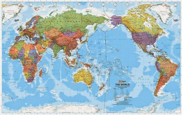 Mapas  Cada País Possui O Seu Ponto De Vista