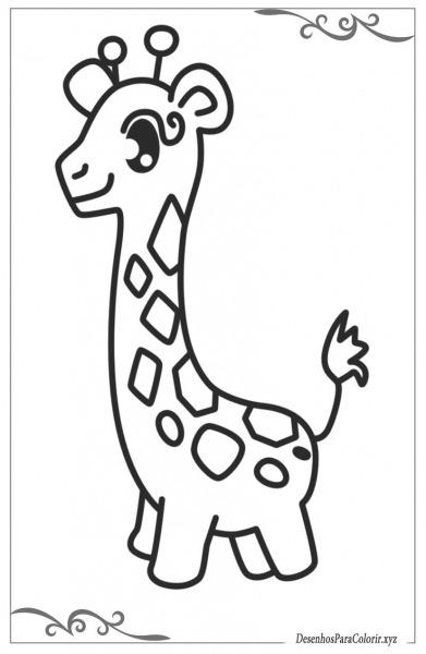 Animais Desenhos Para Colorir De Crianças Grátis E Imprimir