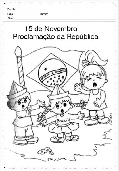 24 Atividades Proclamação Da Republica