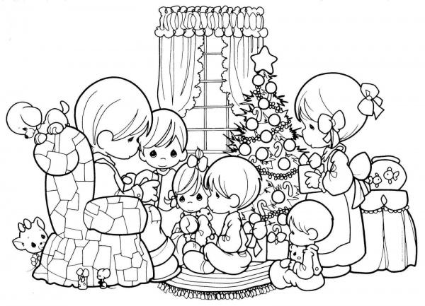 Imprima Desenhos De Natal Para Pintar
