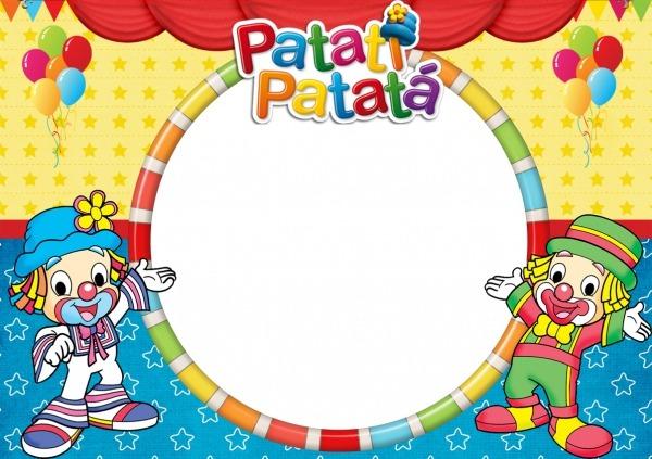 Convite Para Imprimir Patati Patata
