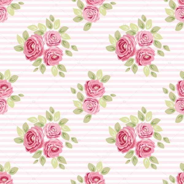 Desenho De Flores Coloridas Bonitos — Vetor De Stock © Ishkrabal