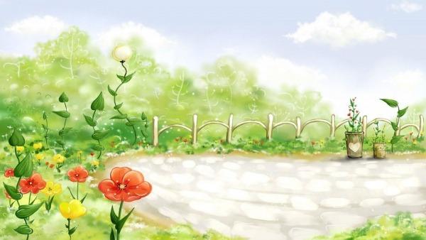 Desenho Colorido De Flores    Fotos E Imagens