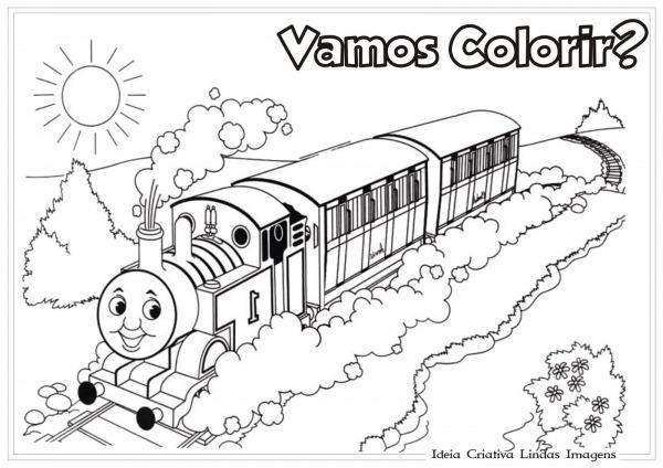 Jogos Thomas E Seus Amigos Para Colorir – Pampekids Net