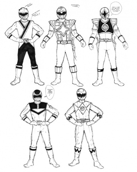 Desenhos Para Colorir Do Power Rangers – Pampekids Net