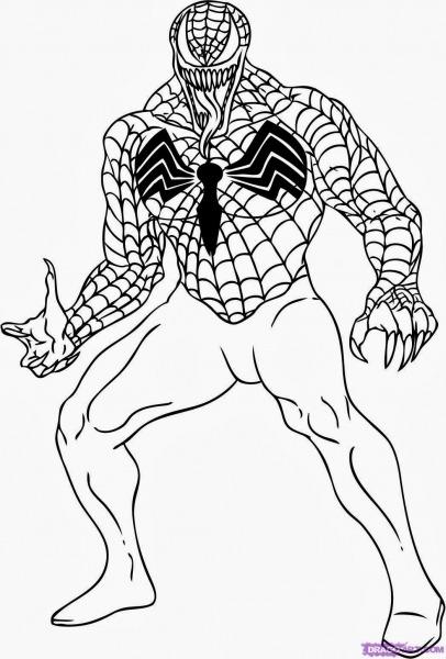 Desenhos Para Colorir Homem Aranha 3
