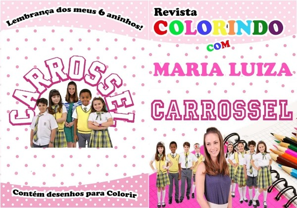 Desenhos Para Colorir Carrossel – Pampekids Net