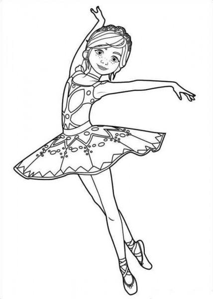 Desenhos Para Colorir Do Filme Bailarina (ballerina)