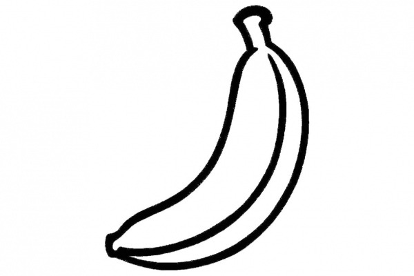 Dibujos De Platanos Para Color On Colorear Platano Platain Banana