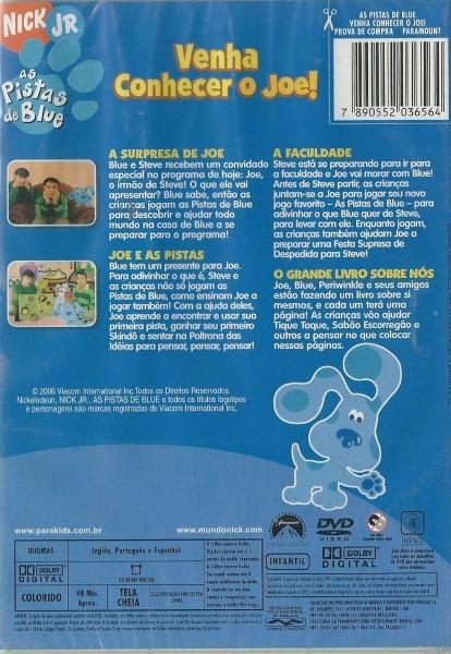 Dvd As Pistas De Blue
