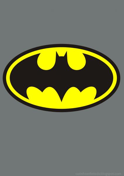 Capas De Caderno Batman (para Imprimir)
