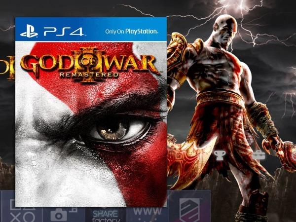 God Of War 3 Remastered [deus Da Guerra]ps4 Psn Game