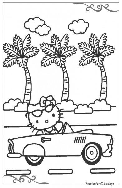 Hello Kitty Desenhos Para Colorir E Imprimir