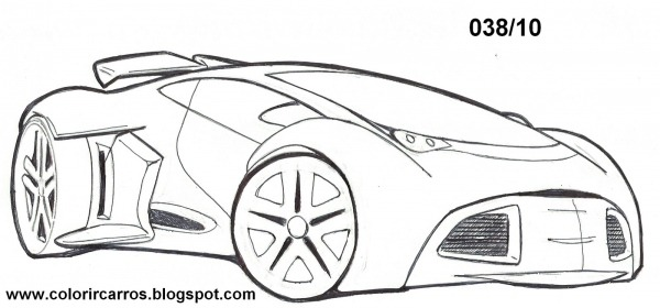 Desenhos Para Pintar Hot Wheels – Pampekids Net