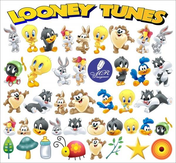 Looney Tunes Vetor E Png No Elo7