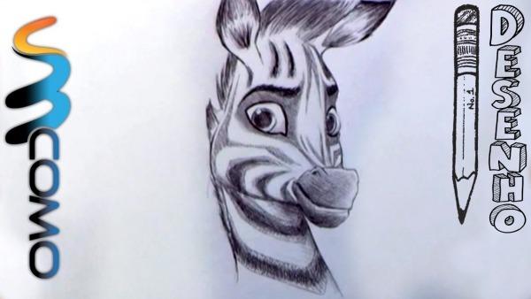 Desenhando A Zebra Khumba