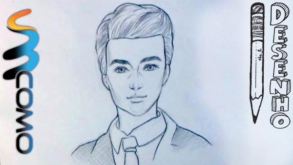 Desenhando Ken O Noivo Da Barbie